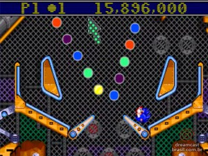 Gameplay Sonic Spinball 01