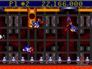 Gameplay Sonic Spinball 02