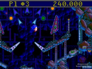 Gameplay Sonic Spinball 04