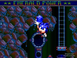 Gameplay Sonic Spinball Emerald 01